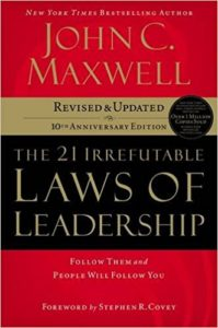 Book Cover: The 21 Irrefutable Laws of Leadership